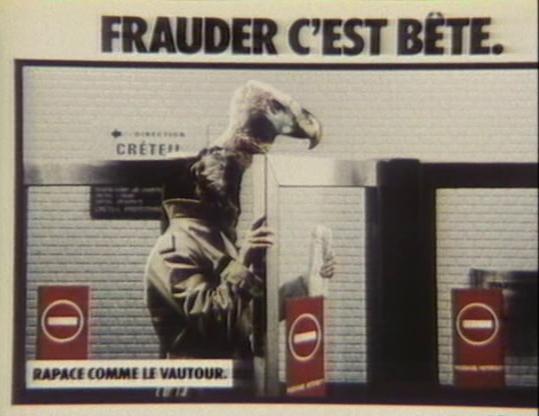 Frauder c'est b_te I (Barres, 1984)