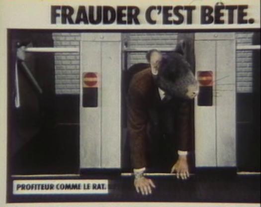 Frauder c'est b_te II (Barres, 1984)